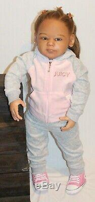 Realistic Ethnic Toddler Reborn Kim