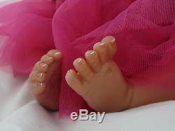 Reborn 19 African American/Ethnic/AA infant baby girl doll Shyann