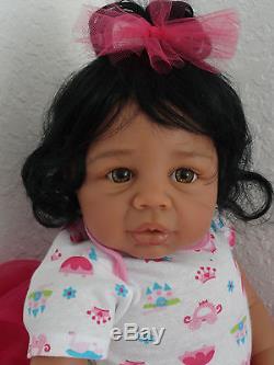 Reborn 21 African American Baby Kyra Ballerina doll-10 days