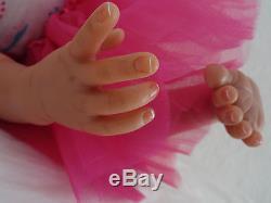 Reborn 21 African American Baby Kyra Ballerina doll-10days
