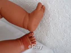 Reborn 22 African American/Ethnic/Biracia Toddler Boy Doll Tyrone Zoo Friends