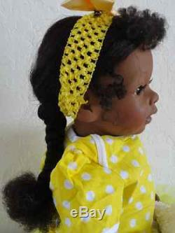 Reborn 22 African American/Ethnic Toddler Girl Doll Trinity