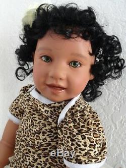 Reborn 22 Ethnic/Hispanic/Biracial/African American Toddler Girl doll Jackie