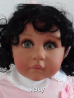 Reborn 22 Ethnic/Hispanic/Biracial/African American Toddler Girl doll Twila