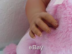 Reborn 22 Toddler Girl Doll Journey- African American/Biracial/ethnic
