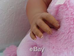 Reborn 22 Toddler Girl Doll Journey- African American/Biracial/ethnic