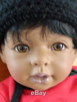 Reborn African American 22 Toddler Boy Doll Marquis and Mickey Mouse