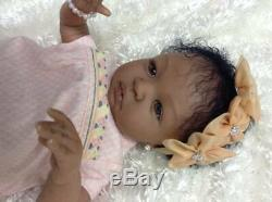 Reborn Baby African American Shyann by Aleina Peterson Belly Plate W. W. Ones