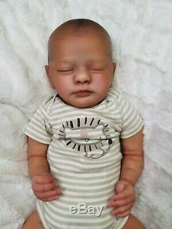 Reborn Baby Boy Evyn Realborn Evelyn Bountiful Baby AA Ethnic Realistic Doll