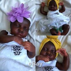 Reborn Baby DollLevi By Bonnie BrownAA EthnicGorgeous Dark Skin