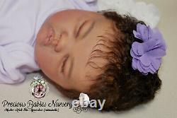 Reborn Baby Girl Ashia By Laura Lee/mimadollsl. Editionnewborndollsiioracrib