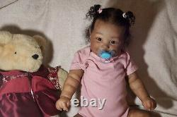 Reborn Baby Girl Maddie by Bonnie Brown Ethnic Biracial AA