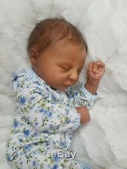 Reborn Baby Girl Realborn Marissa Bountiful Baby AA Ethnic Realistic Doll