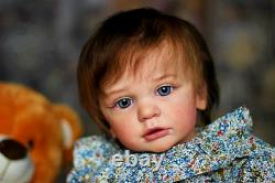 Reborn Baby Girl Toddler Doll Baby Lifelike Realistic Reborn American Baby Dolls