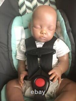 Reborn Biracial African American Boo Boo Baby