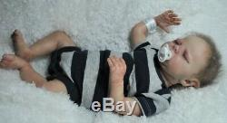 Reborn Doll Baby Clover Reborn Baby Leprechaun, Fairy, Elf Fantasy Boy OOAK Doll
