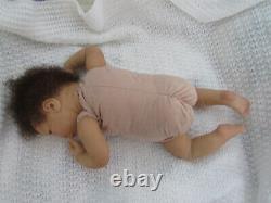 Reborn Doll DeShawn by Jorja Piggot, 18.5, 4 Lbs. 2 Oz. COA