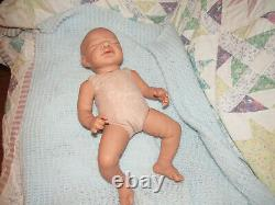 Reborn Doll Imani by A. Stoete, 18 4 Lbs. COA