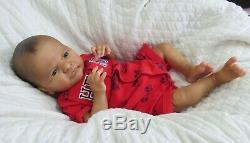 Reborn Ethnic AA Biracial Baby Alfie by Laura Lee Eagles Beautiful Baby Boy