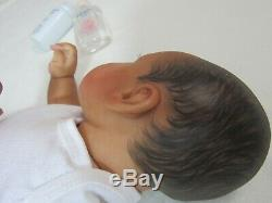 Reborn Ethnic AA Biracial Ltd Ed Gannett by Kitagawa BEAUTIFUL Lil Sugars by Jo