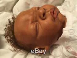 Reborn Realistic Newborn Biracial Baby LCD Vinyl Like Silicone Full Limbs