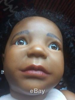 Reborn Toddler Girl Emmy 30 African American
