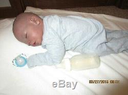 Reborn cuddle baby AA Darren Real born