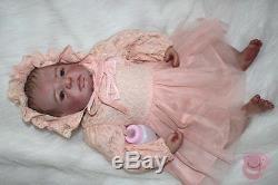 Reborn newborn Dolls 20'' Handmade Lifelike Baby Silicone Vinyl Boy Girl Doll