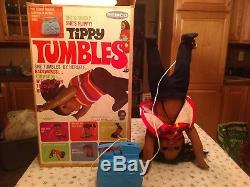 Remco Tippy Tumbles African American Doll Very Rare Toy Made by Remco