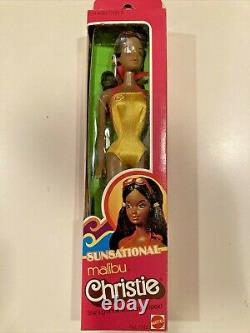 SUNSATIONAL MALIBU CHRISTIE #7745 STEFFIE FACE AA MATTEL Barbie New