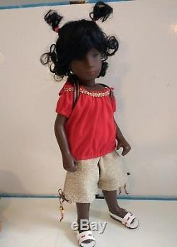 Sasha Doll Dalia OOAK African American Black Girl Custom Doll