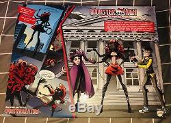 Sdcc 2013 Mattel Monster High Power Ghouls Wydowna Spider Webarella Doll Rare