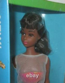 Second Issue Black Francie Doll In Variation Swimsuit NRFB