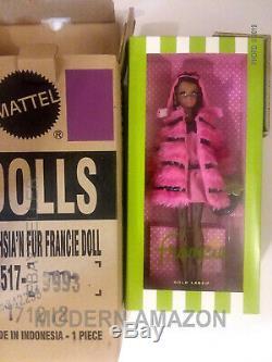 Silkstone Fuchsia'N Fur Barbie Doll 2012 #W3517 In Original Box H72 AA