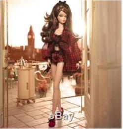 Silkstone Lingerie #5 Model AA Barbie 1st African American Doll 2002 New see det