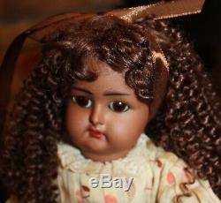 Simon & Halbig K& R Mulatto Doll 13.5 Perfect head, sleep eyes, Jointed Body