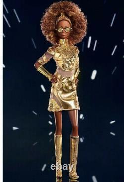 Star Wars C-3PO x Barbie GLY30 IN STOCK NOW! Mint Sealed In Box