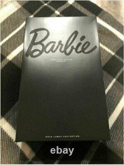 Stephen Burrows Alazne Barbie Doll 2012 Gold Label Mattel X8279 MINT NRFB