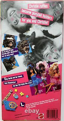 Style Magic Wondercurl Christie Doll #1288 Never Removed from Box 1988 Mattel