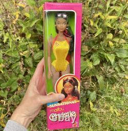Sunsational Malibu Christie Barbie Doll AA Mattel Vintage 1981 Steffie Face NRFB