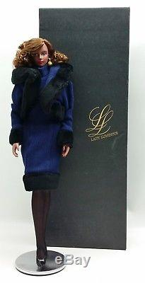 Takara Japan Lady Luminous Doll African American Blue Suit No. 816-170 5262665