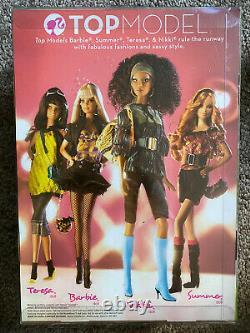 Top Model Barbie Nikki Doll #M6777 Model Muse 2007 2008 Brand New