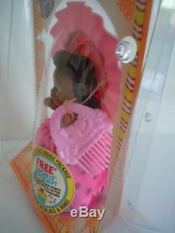 Ultra Rare Vintage Kenner + Tonka African American Doll Cupcake Jampops Fruity