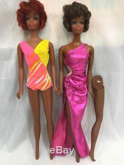 Vintage African American Barbie Lot Brad, Christie
