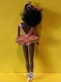 VINTAGE Ballerina Cara Black Steffie face AA Barbie Doll 1975 Mattel Rare HTF