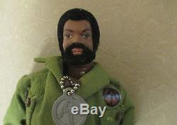 VTG 1970's Hasbro GI Joe African American Black Doll Adventure Team Commander