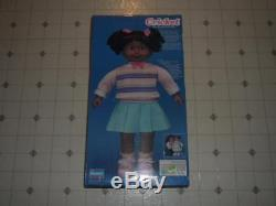 VTG 1986 Playmates talking animated CRICKET doll Black African-American NIB! -P14