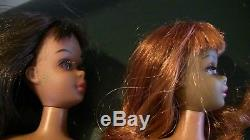 VTG Black African American Francie Barbie (RED HEAD HAIR DOLL ONLY ONE DOLL)