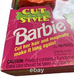 VTG CUT AND STYLE BARBIE #12642 AA Mattel 1994 New NRFB w Original Price Tag