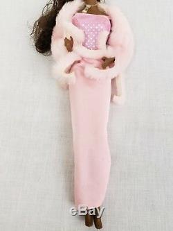 VTG Pink Pretty Christie Doll African American AA Superstar 1981 Mattel #3555